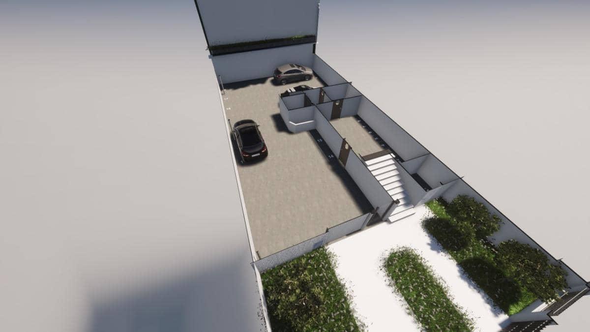 Parking-Salle des ablutions