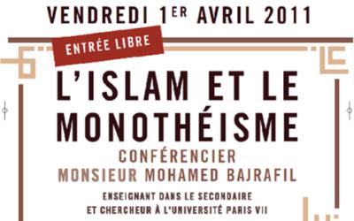 Conférences l'islam et le monothéisme